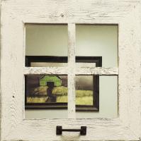 Small Square Window Mirror
