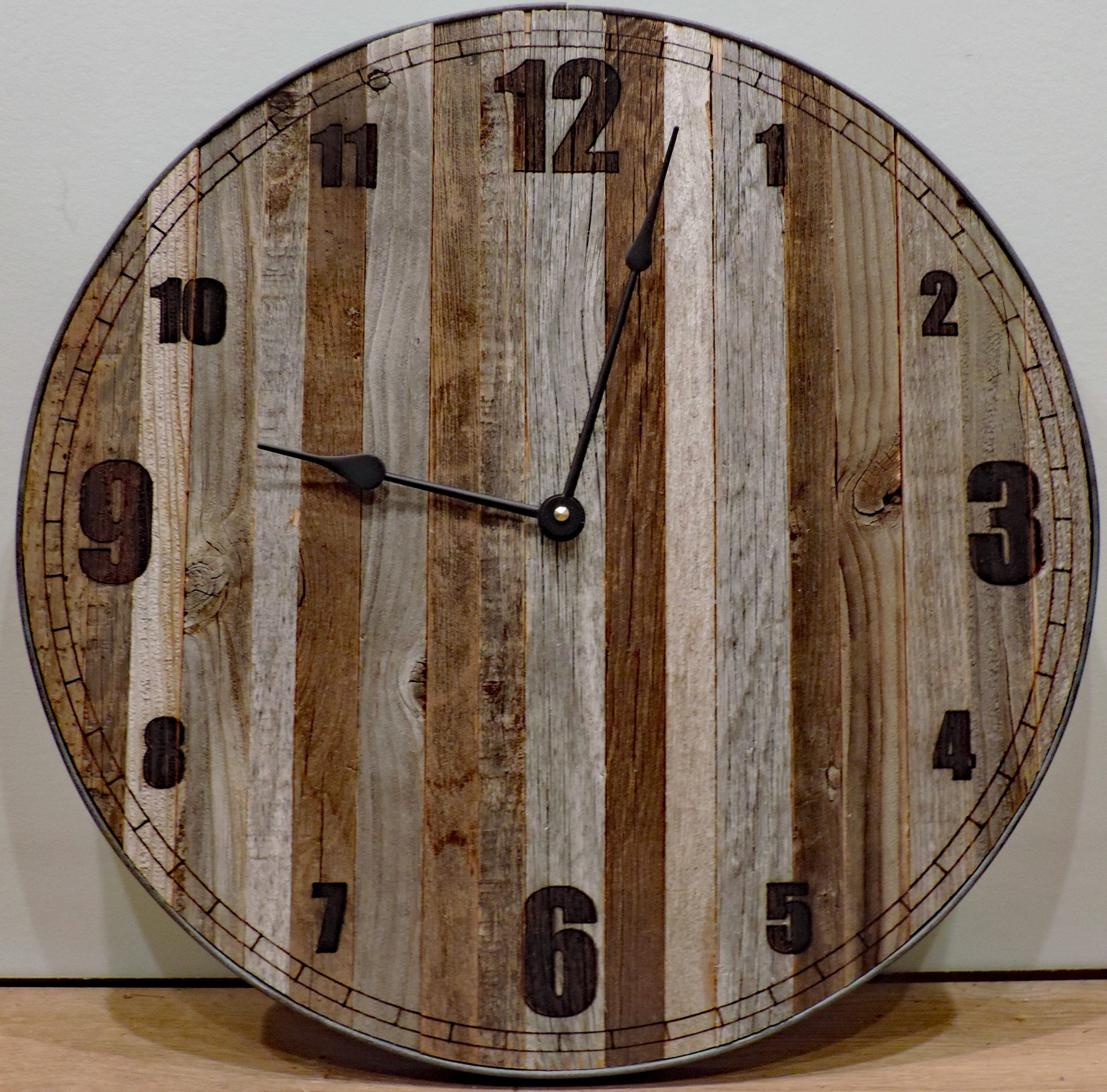 24 Inch 24 Quot Mama Bear Rustic Wall Clock Big Barn Wood