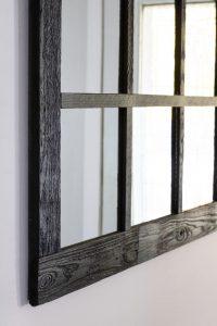 X large window mirror