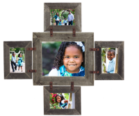 Large Rustic Conestoga Collage Picture Frame