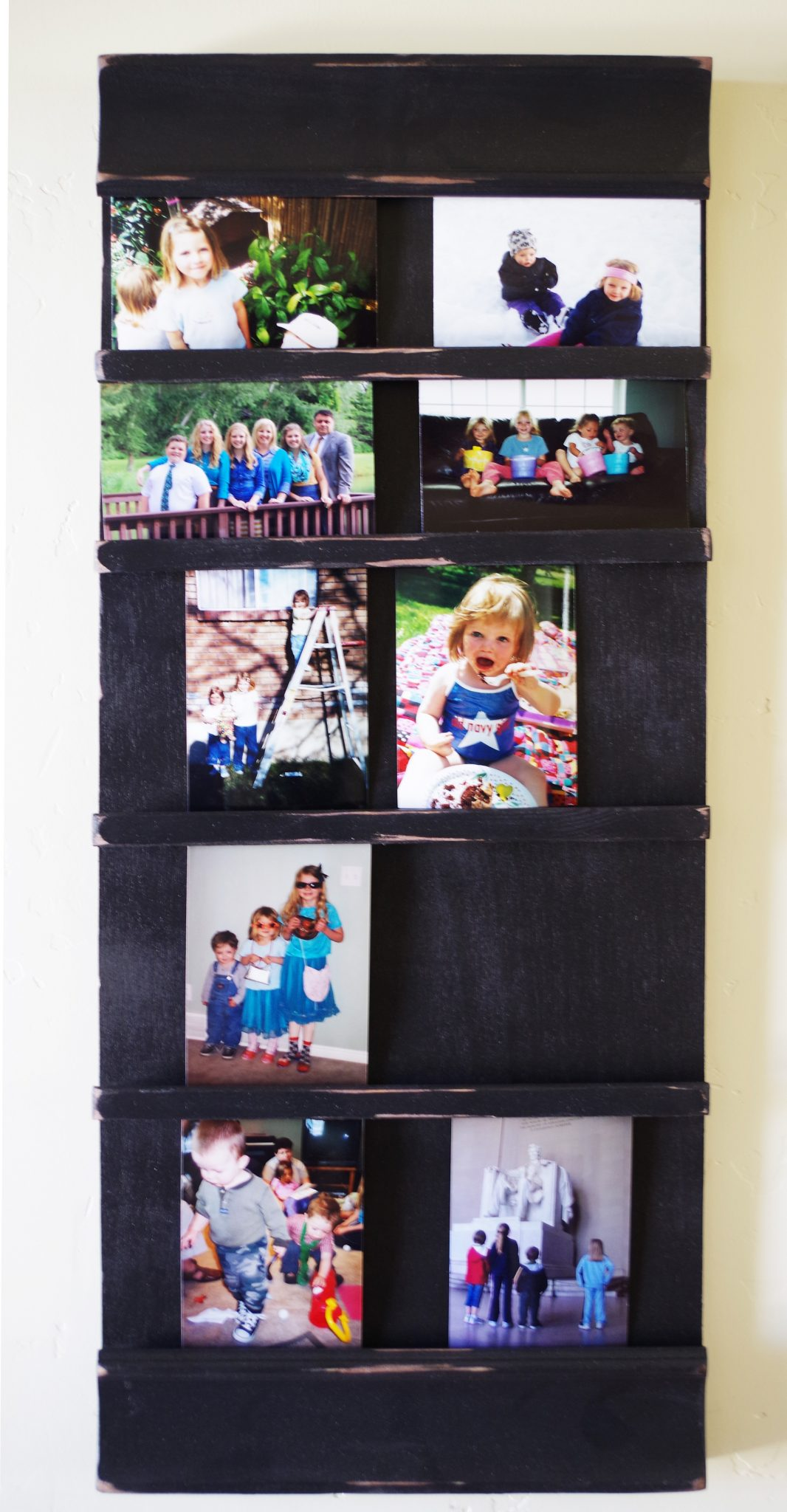 13 5 Inch X 33 5 Inch Picture Frame Collage Board