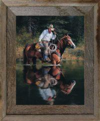 2f3dd340a93 8 X 12 Narrow Western (2-in) Photo Frame ⋆ AllBarnWood