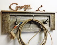 Country Cowboy Hook Rack
