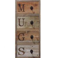 Hanging Mug Rack Display