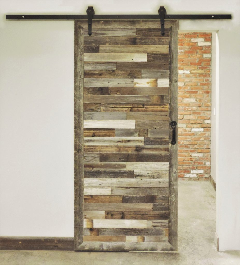 The Inbretton In Style Rustic Reclaimed Wood Sliding Barn