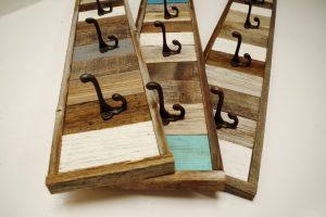 Wooden Entryway Coat Rack