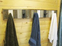 Hanging Towel Rack