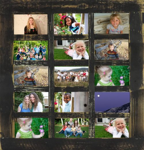 Multi Picture Frame 15 opening 4 X 6