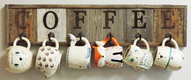 Coffee Mug Racks