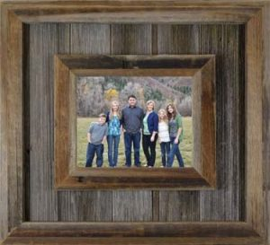 Durango Reclaimed Wood Picture Frames