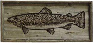 Rustic Wildlife Barnwood Art