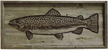 Rustic Wildlife Barnwood Art