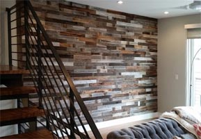 Reclaimed Wood Wall Paneling