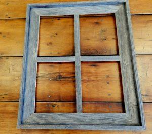 Narrow Western Window Frame