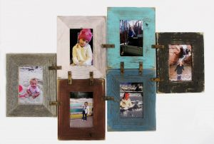 DIY wall collage picture frame