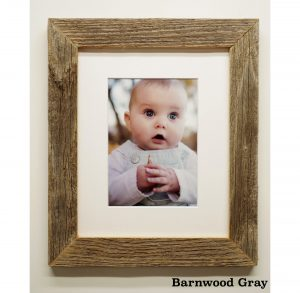 1.5 in barnwood picture frame