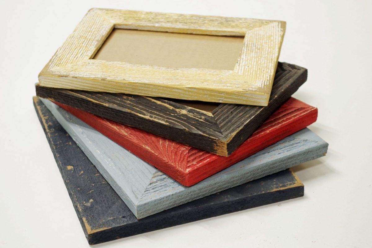 1.5 inch basic barnwood picture frames