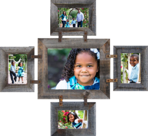 Mixed size Large Collage Photo Frames